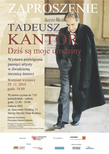 Tadeusz Kantor - wystawa i panel dyskusyjny