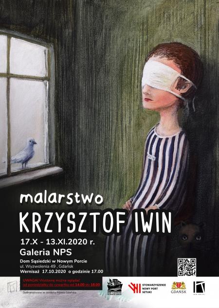 Wystawa malarstwa Krzysztofa Iwina