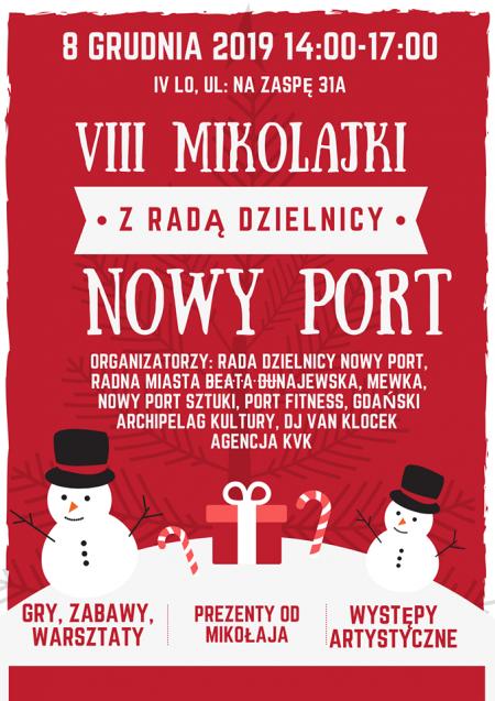 VIII Mikołajki z Radą Dzielnicy Nowy Port