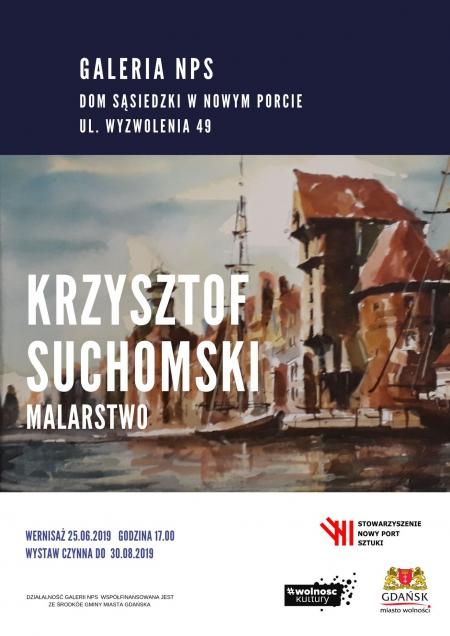 Wernisaż wystawy malarstwa Krzysztofa Suchomskiego
