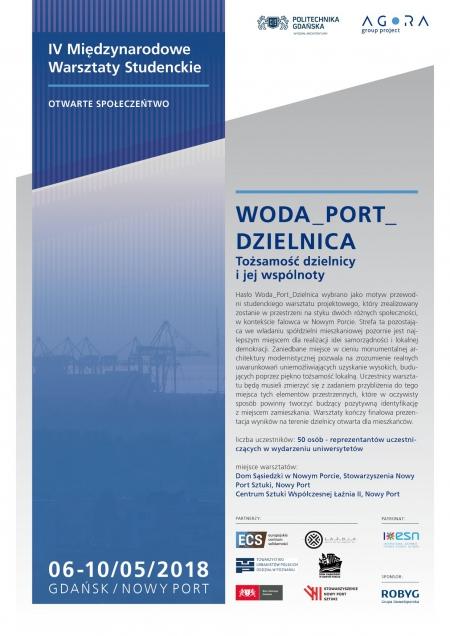IV Międzynarodowe Warsztaty Studenckie WODA_PORT_DZIELNICA